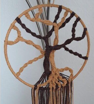 macramé levensboom