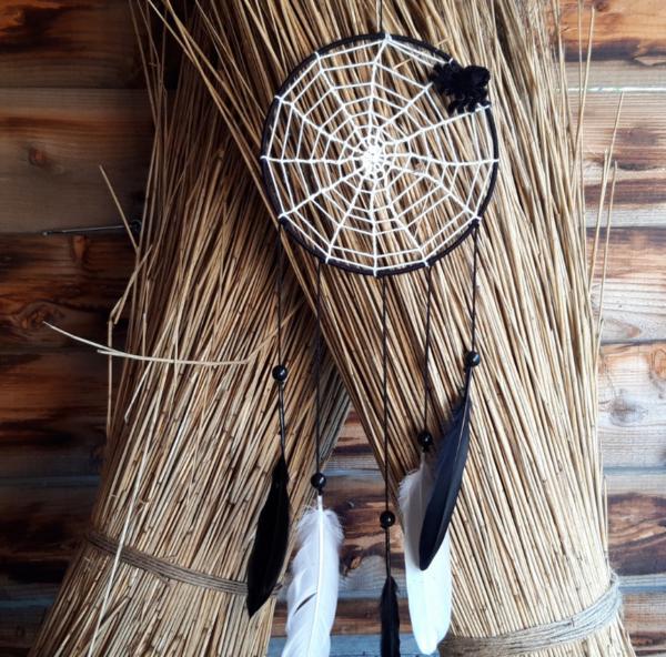 Handmade Spinnenweb dromenvanger