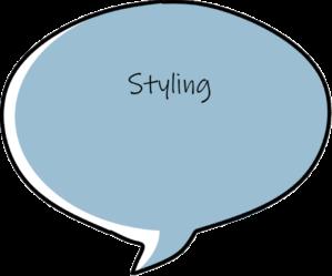 Styling tekstballon