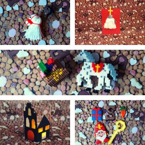 Een DIY pakket boordevol materialen om lekker te knutselen met en door de kinderen voor Sinterklaas. Vier creaties kunnen er gemaakt worden, dan ligt er nog een kleurplaat op je te wachten en ook nog eens een lekker pepernoten recept om samen met je ouders te maken.