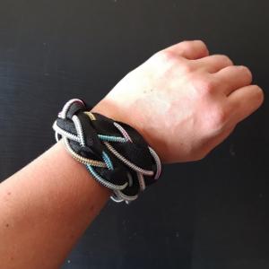 DIY pakket om de regenboog rits armband mee te maken.