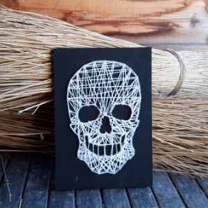String art in Halloween stijl!