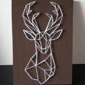 DIY pakket string art hert