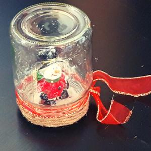 DIY pakket Kerst in een potje