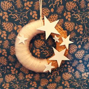 DIY pakket kerstkrans