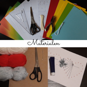 Materialen DIY box Love is in the air
