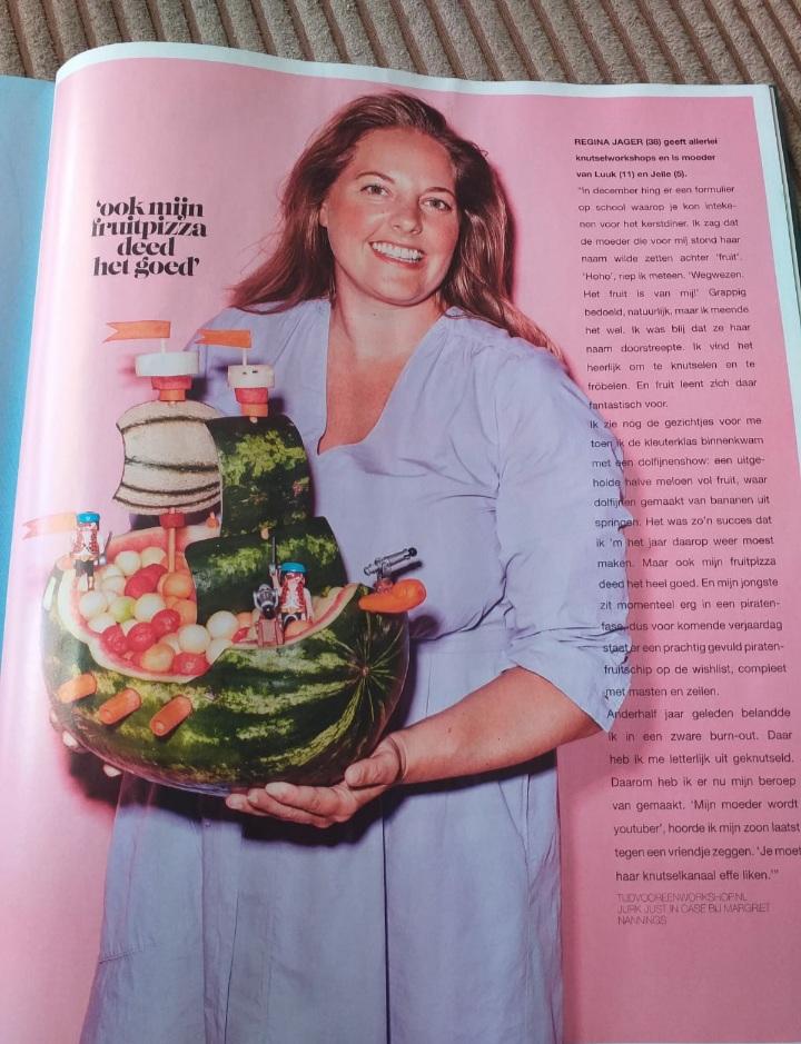Artikel in magazine VRUCHT